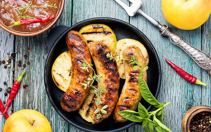 Mild Beef Spice Sausages - Show Boat Brand